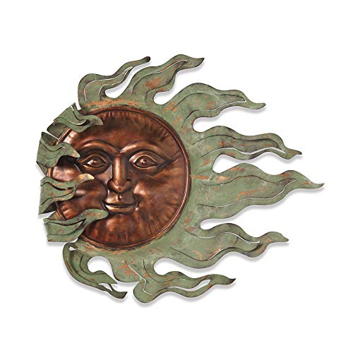 GIL 2071130 26.7InL Sun Face Wall Hanging Spring 25InL x 2.5InW x 22InH Multicolor