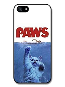 Accessories Jaws Paws Funny Cat Movie Poster Case For Sam Sung Galaxy S4 I9500 Cover