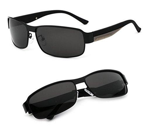Sol Hombres Conductor KOMNY Gafas Gafas sección los de de Hombres polarizador Gafas Deportes de retrovisor Espejo de Sol Hombres Espejo Marco Oro de de Frame Black de los Sol RUgrq8Rw