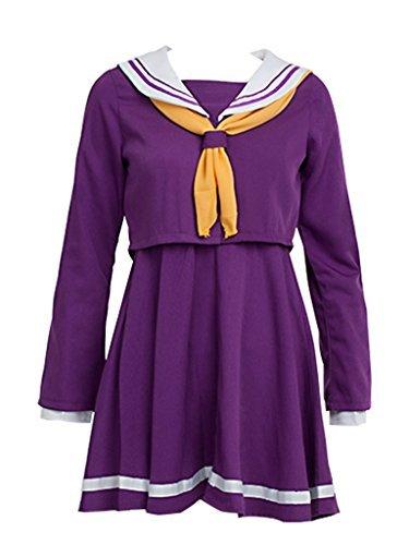 No Game No Life Shiro Costume - Koveinc Cosplay Costume for No Game No Life Shiro Costume