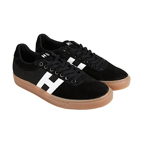 HUF Men's Soto Skate Shoe, Black/Gum, 6 M US