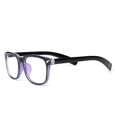 Unisex Square Mirror Sunglasses Retro Glasses Frame