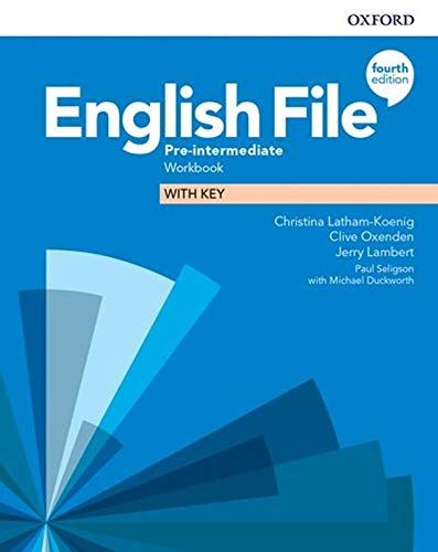 English File Pre Intermediate Workbook With Audio 4th Edition Langpath