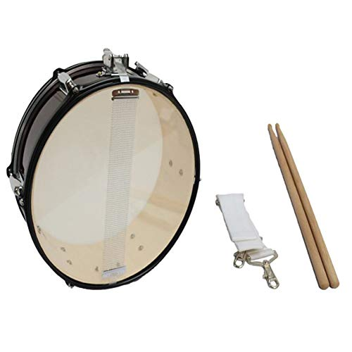 LVSSY-14 Inch / 35 cm Strap Small Snare Drum Musical Instrument Young Pioneer Drum Student Drum