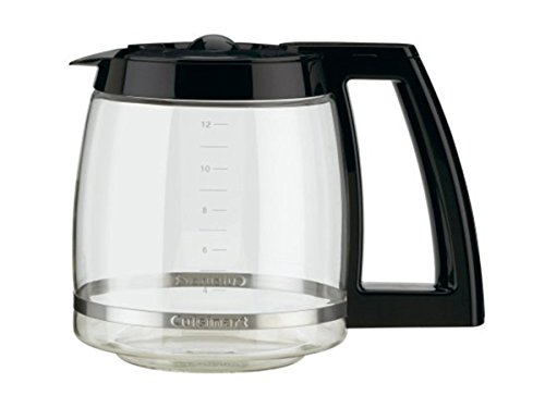 Cuisinart 12-Cup Coffeemaker 2 Classic brushed metal design with a 12-Cup carafe with ergonomic handle for comfortable, dripless pouring Brew pause feature lets you enjoy a cup of coffee before brewing has finished. Adjustable heater plate (low, medium, high) ensures that your coffee stays at the temperature you like best 24-hour advance brew start, programmable auto shutoff from 0 to 4 hours plus a 1- to 4-Cup feature when making less than 5 cups