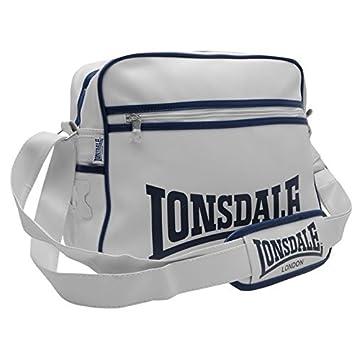 49840506a9ff Lonsdale LONDON Pilot Schultertasche Umhängetasche Messenger Bag Tasche  unisex