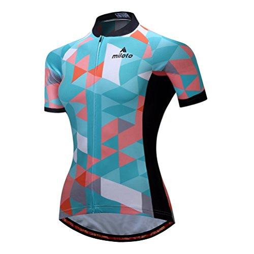 Uriah Women's Cycling Jersey Short Sleeve Reflective Space Blue Size XXL(CN)
