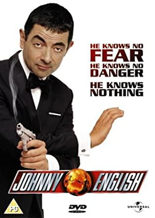 Johnny English Dvd 2003