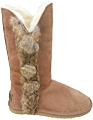 Reed Womens Real Fur & Leather Boots