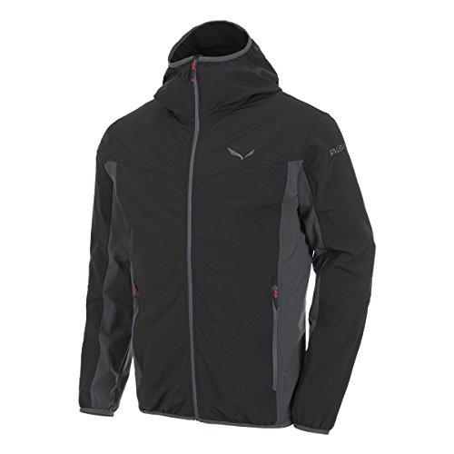 Maglietta Uomo 0730 Out black Giacca Puez Sportiva Salewa Negro Tullen 0911 Da Dst BATSnxn