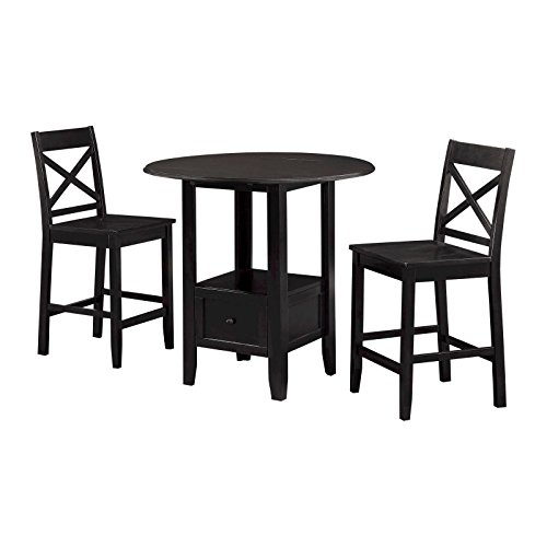 3 Piece Storage Pub Set