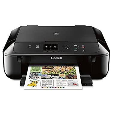 Canon MG5720 Wireless All-In-One Printer with Scanner and Copier: Mobile and Tablet Printing with Airprintcompatible, Black