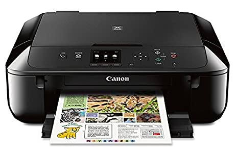 Amazon.com: Canon mg5720 Wireless All-in-One Printer con ...