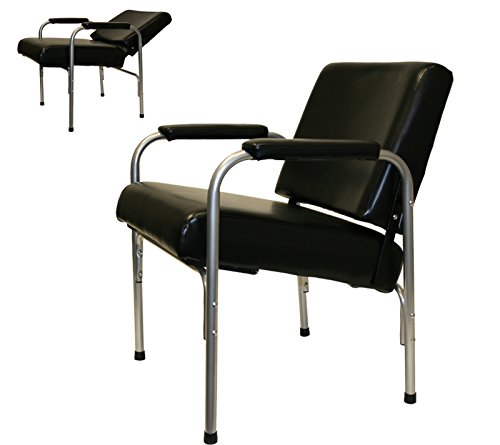- LCL Beauty Automatic Recline Shampoo Chair with Double-Reinforced Steel Frame