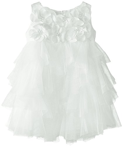 Biscotti Baby Girls' Creme De La Creme Sleeveless Dress, Ivory, 18 Months