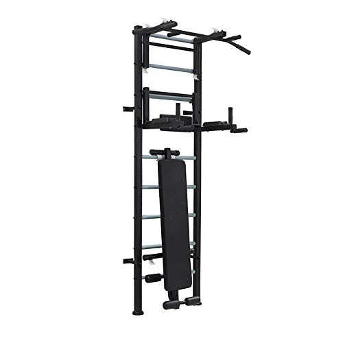 BenchK Wall Bar Set Workout Station Winner schwarz