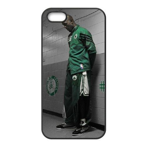 Celtics coque iPhone 4 4S cellulaire cas coque de téléphone cas téléphone cellulaire noir couvercle EEEXLKNBC24081