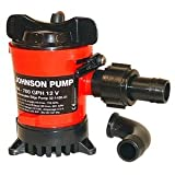 Johnson Pump Compact Cartridge Bilge Pump (500 GPH 12V)