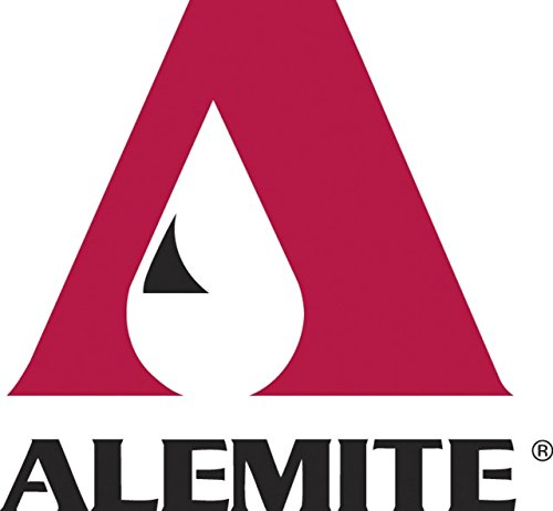 "Alemite 6268-2 High-Pressure Grease Gun, Develops up to 15,000 psi, Delivery 1 oz./24 Strokes, 12 oz., 1/4"" NPTF Outlet"