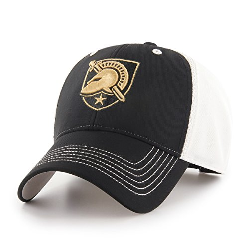 NCAA Army Black Knights Sling OTS All-Star MVP Adjustable Hat, Black, One Size