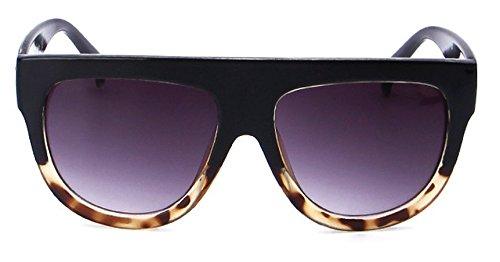 Qissy Femmes Designer Unisex erres Teintés UV400 Classique Lunettes de soleil en Oversize Lunettes Club master (I) Mj8Zd5n
