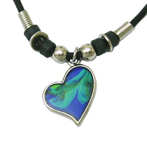 Tapp Collections trade; Mood Pendant Necklace - Heart]()
