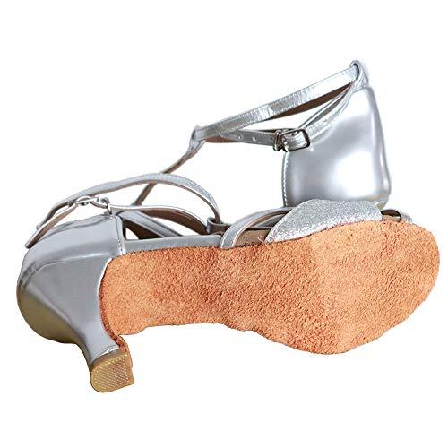 talon Hauts De Argent Sandales Triworiae chaussures 7cm Talons Danse Femme Latine wz11fSXxq