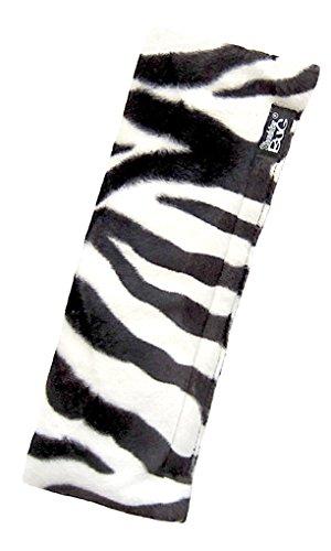 Shoulder Bug Seat Belt Shoulder Pad Zebra Faux Fur by -