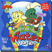 Humongous Entertainment Freddi Fish and Luther's Water Worries Kid Games for Windows for 8-3
