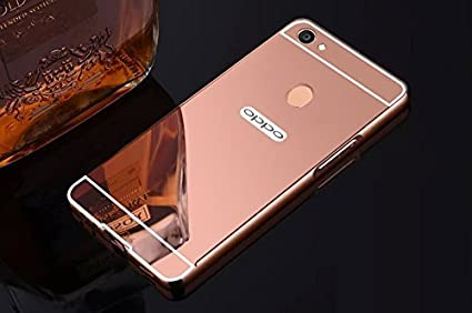 competitive price 1aa11 eed9b KYS Oppo F5 Back Cover, Luxury Metal Bumper + Acrylic: Amazon.in ...