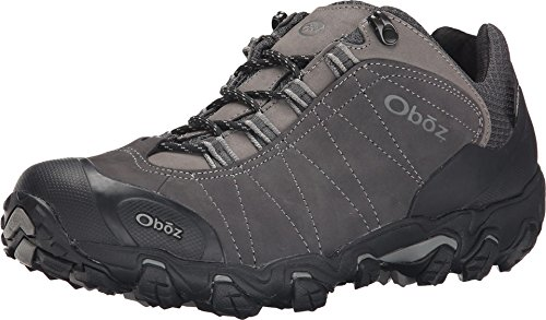 Oboz Men's Bridger Low B-Dry Waterproof Hiking Shoe