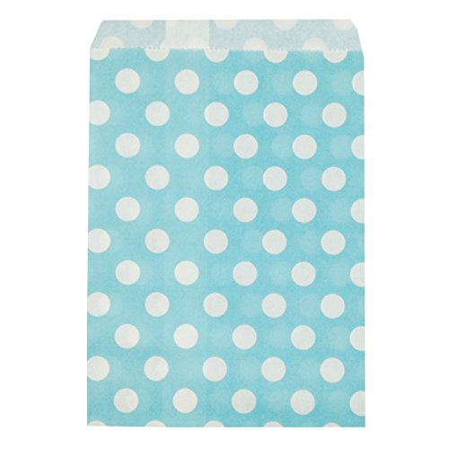 Wrapables Polka Favor Bags Light