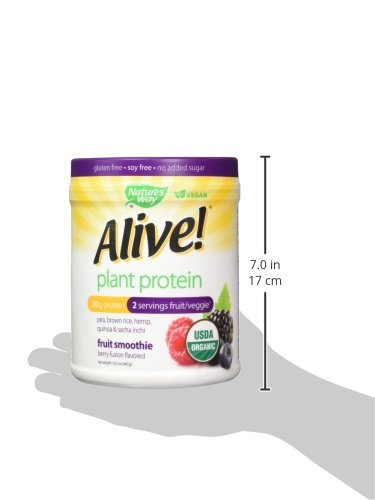 Alive! USDA Organic Plant Protein Smoothie