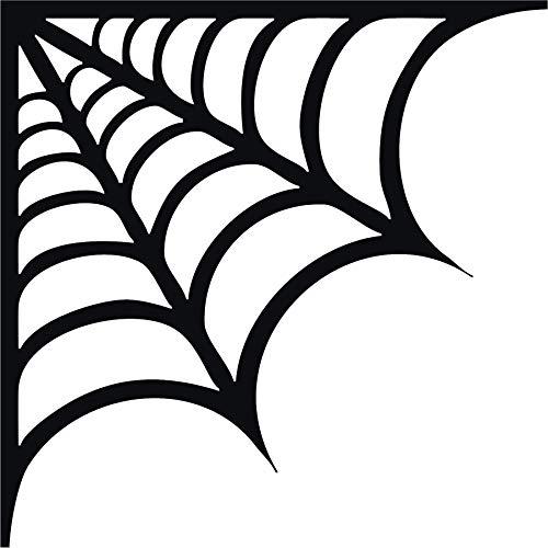 Family Connections Corner Spider Web ~ Black ~Indoor
