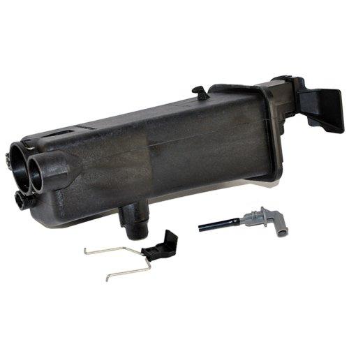 Bmw Radiator Expansion Tank (BMW Radiator Coolant Reservoir Expansion Tank + Coolant Sensor + Clip Hamman OEM Quality)