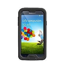 LifeProof FRE Samsung Galaxy S4 Waterproof Case - Retail Packaging - BLACK/CLEAR