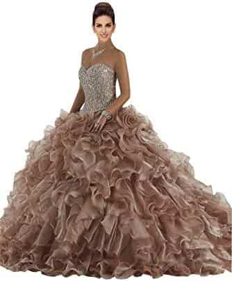 f39920cbb5e Luxury Red and Green Embroidered Quinceanera Dresses Prom Strapless Ball  Gowns Formal Dress Gradaution