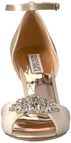 Badgley Mischka Women's Sabrina Heeled Sandal Ivory many kinds of cheap price buy cheap 2014 buy cheap affordable big sale cheap price 2014 new for sale zBPmDY4jI