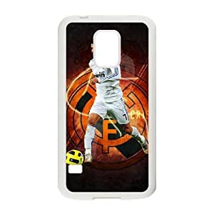 Special Design Cases Prwdjv Samsung Galaxy S5 Mini White Real Madrid Durable Rubber Cover