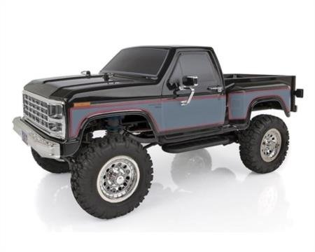Team Associated 1/12 CR12 Ford F-150 Pick-Up 4WD Brushed RTR, (Associated Rear Threaded Shock)