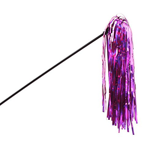 (Topbeu Cat Toy Wand With Colorful Ribbon Pet Teaser Toy For Cats And Kitten)