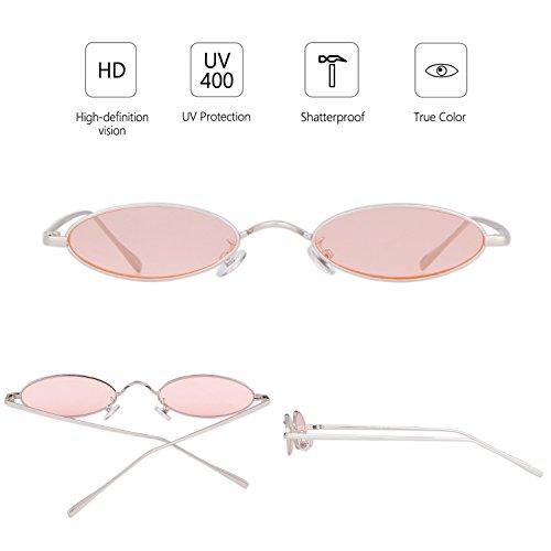 ADEWU Soleil Femmes Pink Lunettes Pour de rpErCq