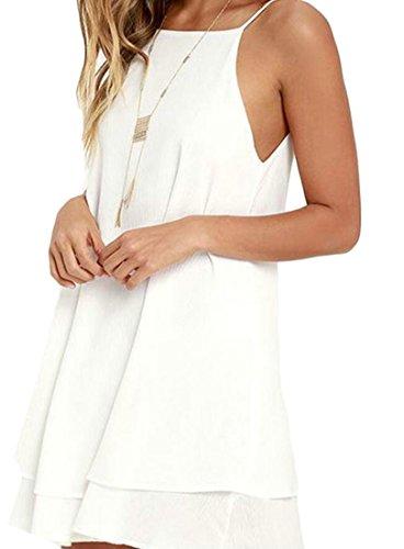 backless halter neck peplum dress - 9