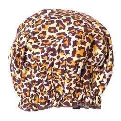 Spa Sister Bouffant Shower Cap Leopard Print (Shower Sister Spa)