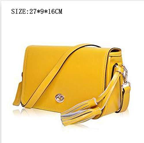 9 Yellow 16 Le Defect cm Sac épaule bandoulière avec 27 sur Une de à en Main Femme Haut Cuir pour la 0q0w1Rf