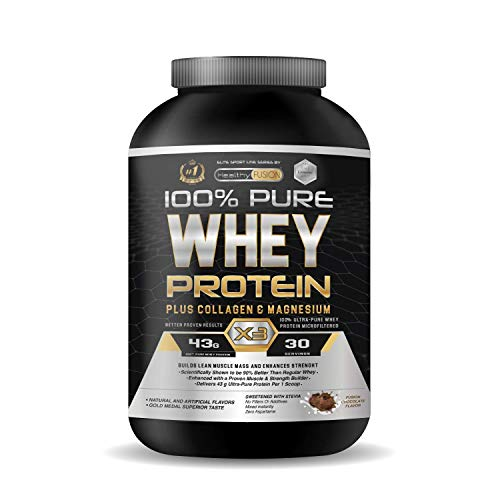 Wei-eiwit   Pure wei-eiwit met collageen + magnesium   Versterkt en vergroot de spiermassa   Beschermt spieren en helpt…