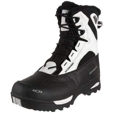 Salomon Women's Toundra Mid WP Winter Boot,Black/Cane Black,6 M US