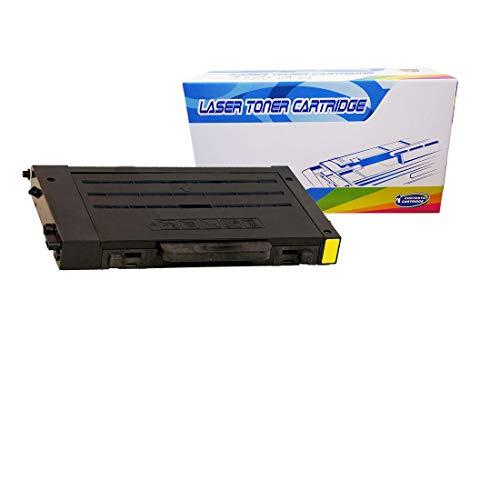 Inktoneram Compatible Toner Cartridge Replacement for Samsung CLP-510 CLP510 CLP-510D5Y CLP-510N CLP510N (Yellow) ()