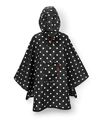reisenthel Mini Maxi Poncho, Lightweight and Packable Design, Mixed Dots (Best Rain Poncho 2019)