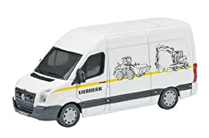 Schuco 452579900 VW Crafter Liebherr - Furgoneta en miniatura (escala 1:87)